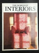 The World of Interiors Magazine: March 1986