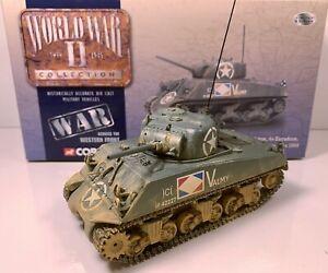 Corgi CC51005 1:50 Diecast M4A2 Sherman Tank, French Army, Marseilles, 1944