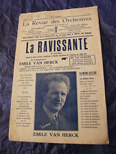 Partition La ravissante Emile Van Herck Music Sheet