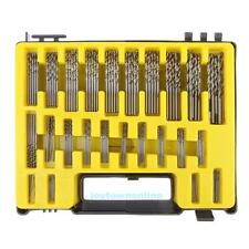 150Pcs Precision 0.4mm-3.2mm HSS Mini Micro Twist Drill Bit Set Kits Carry Case