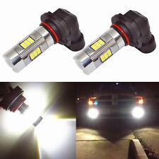 Alla Lighting 3200lm 6000K 27-LED 9145 Fog Light Driving Bulbs Lamps Xenon White