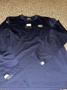 Chicago Bears 2020 Sideline Nike Crew Coach Pullover Sweatshirt XXL
