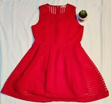 Ladies red party dress size 12