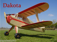"Model Airplane Plans (FF): DAKOTA 24""ws for .020-.074 by Joe Wagner (Veco)"