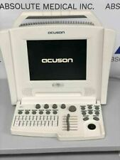 Siemens Acuson Cypress White Portable Ultrasound Machine With 7l3 Linear Probe