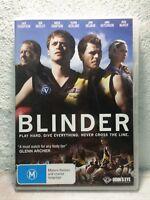 Blinder DVD Australian AFL Football Movie - Oliver Ackland, Jack Thompson