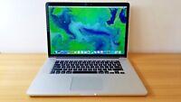 """Apple Macbook Pro Retina Laptop 15.4"""" 2.8 GHz i7 - 3.8Ghz i7 16GB RAM 512GB SSD"""