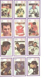 1970 Esso Power Players Panels 64 - see scans Sittler Clarke Perreault Esposito