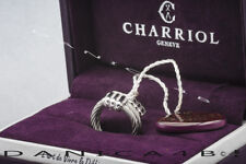 CHARRIOL Silver Steel Cable Ring Sizable