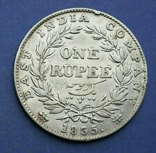 India - 1835 William III Rupee