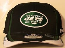 New York Jets Reebok Sideline L/XL Structured Flex Hat Cap New NFL Onfield
