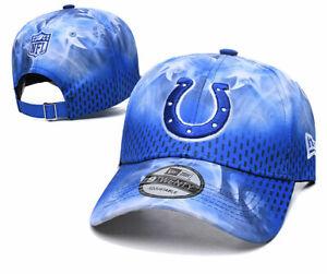 NEW ERA NFL Indianapolis Colts 9 Twenty Adjustable Baseball Cap Hat