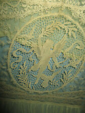 New listing Antique Normandy Lace Long Panel