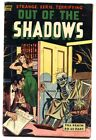 Out of the Shadows #9 1953- Skeleton wheelchair cover-Pre-code horror