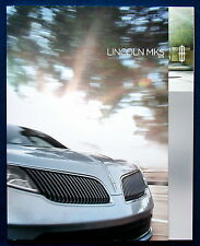 Prospekt brochure 2013 Lincoln MKS (USA)
