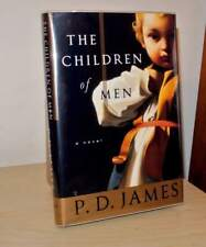 """""""CHILDREN OF MEN""""  1st EDITION, 1st PRINTING BOOK  SIGNED BY P. D. JAMES"""