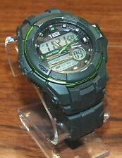 Genuine Armitron Pro Sports (20-4942) Men's Chronograph Green WR 330 Watch! READ