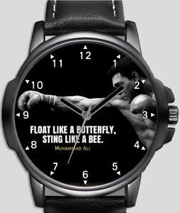 Mohammad Ali Boxer Stylish Rare Quality Wrist Watch