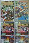 Avengers #321-322,#323 x2 Marvel Comics (4) Comic Run Copper Age 1990 VF Vision