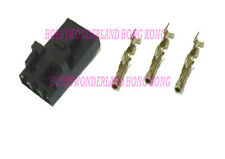 2543 MOLEX 2.54mm 3-Pin Female LOCK Connector with crimp terminal x 20 SETS