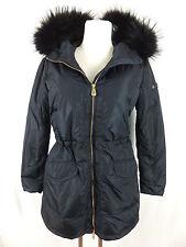 PEUTEREY Daunen Mantel Jacke - 42 - blau - neu m. Etikett - abnehmbarer Kragen