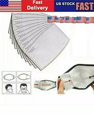 20pc Pack PM 2.5 Mask Filter Replacement Adult Size Ships Fast From USA
