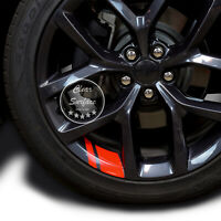 "Wheel Rim Vinyl Decal Sticker Hash Mark Stripe Overlay For 18"" - 20"" Wheels"