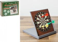 Desktop Magnetic Dart Board & Darts Novelty Gift Free Standing Desk Boxed