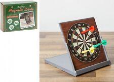 Desktop Magnetic Dart Board & Darts Novelty Gift Free Standing Desk Boxed