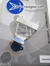 NEW Bridge Trapeze Archtop Tailpiece RGHL4J chrome Prorockgear toutes guitares