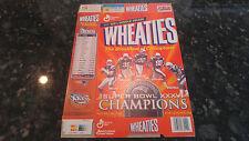 2002 New England Patriots Super Bowl Champions Edition Wheaties Flat Box