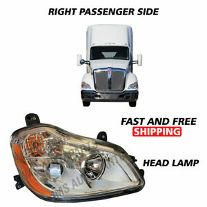 Kenworth T680 Projector Headlight Assembly With Position Right Passenger 2010-19