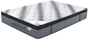 Euro Top Queen size mattress brand new.  Serenity by Aston Mattress