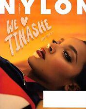 NYLON Magazine October 2016 We Love TINASHE Cover, Amanda Steele, Emily Kinney