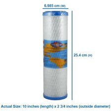 X4 Pentek - CBC-10 Carbon Filter 0.5 micron replaces  by  OMNIPURE USA