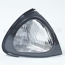 For Toyota Avensis 97 - 00 Front Indicator Clear Black Surround Drivers Side O/S