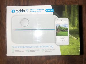 New Rachio 3, 3rd Generation 8-Zone Smart Water Sprinkler Controller