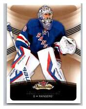 (HCW) 2015-16 Fleer Showcase #71 Henrik Lundqvist NY Rangers NHL Mint
