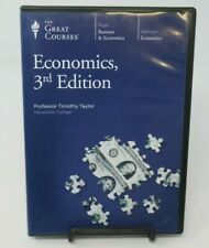 ECONOMICS, 3RD EDITION, 6-DISC DVD SET, PROFESSOR TIMOTHY TAYLOR, GREAT COURSES