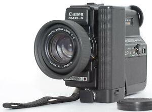 【MINT】 Canon 514XL-S Canosound Super8 8mm Film Movie Camera JAPAN send #236