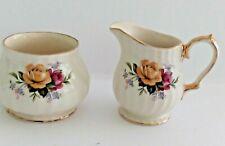 "James Sadler & Sons Ltd Creamer & Sugar Bowl ""Pattern 2745"" - England"