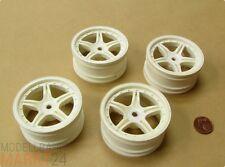 Satz 4x Felgen für RC Automodell Räder Durchmesser 5cm für Maßstab 1:8 1:10