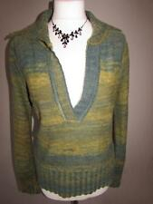 Wool Blend Long Sleeve Collared None Women's Jumpers & Cardigans