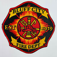 Bluff City Fire Department Sullivan County Tennessee Patch