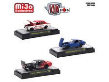 AUTO JAPAN DATSUN/NISSAN 3 CARS SET 1/64 DIECAST MODELS M2 MACHINES 32500-MJS09