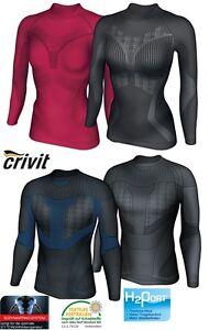 Crivit Damen Thermo Funktionsunterhemd Winter Ski Wintersport Langarm Shirt
