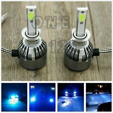 H1 8000k ice blue CREE LED Headlights Bulbs Conversion High Low Beam Fog Lights