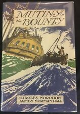 Mutiny on the Bounty Nordhoff & Hall 1932 First Edition 2nd State reprint