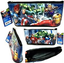 Marvel AVENGERS Pencil Bag, Pen Case, Pouch for Other School Supplies - NWT