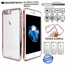 iPhone 8 8 Plus 7 7 Plus 6 Case Metalized Genuine Mercury Ring 2 Cover for Apple